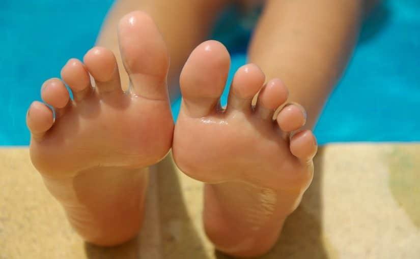 Ta hand om dina fötter med zonterapi
